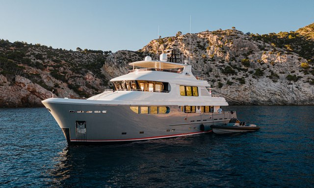 Explorer yacht SEAL available for winter charter in Ibiza