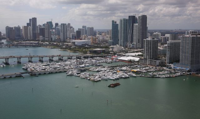 2021 Miami Yacht Show on hold