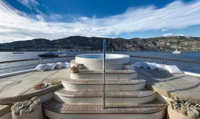 Exclusive First Look Inside Refit Superyacht CHAKRA