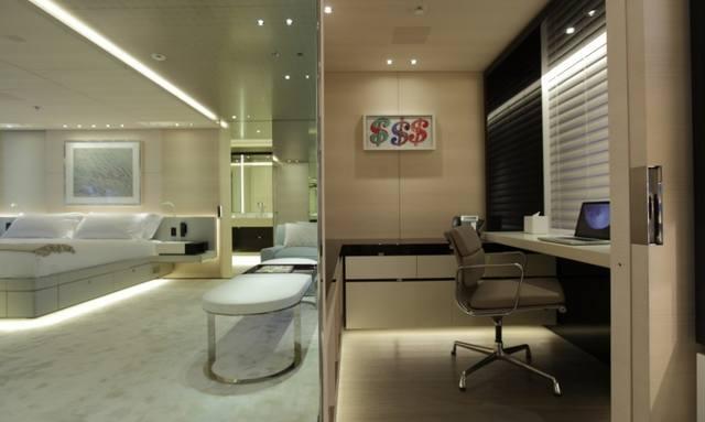 Impressive master suite on Nautilus