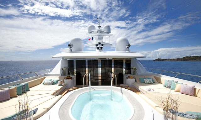 M/Y LADY BRITT for charter in the Caribbean