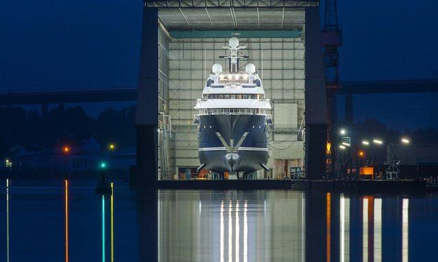 Lürssen Comment on 85m Solandge Yacht
