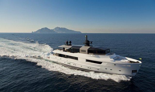 New Superyacht JURATA Joins Charter Fleet