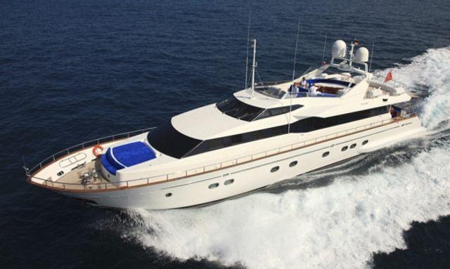 Superyacht Bojangles For Charter This Summer