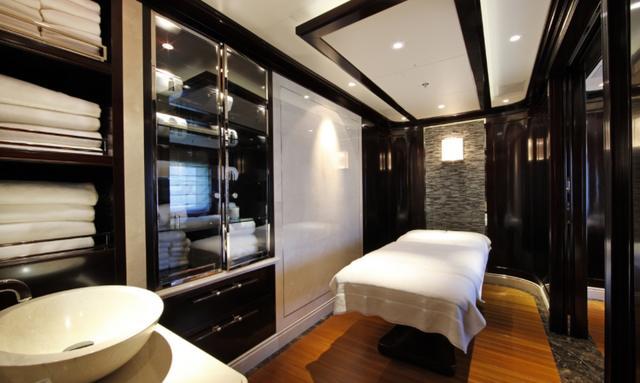 Indulgent treatment rooms on Seanna