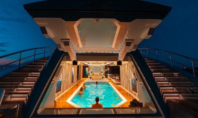 First look: Inside 80m charter yacht TATIANA