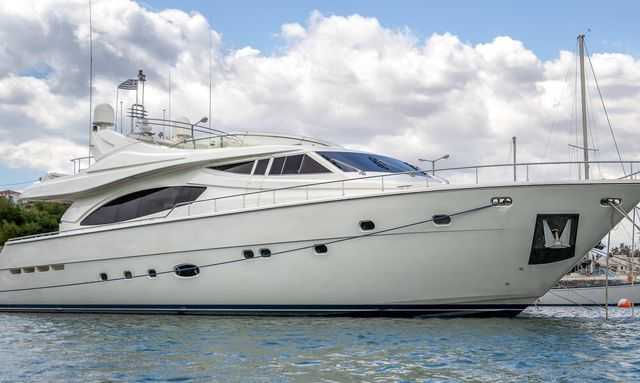 Freshly refitted 27m motor yacht ESTIA YI available for Greece yacht charters