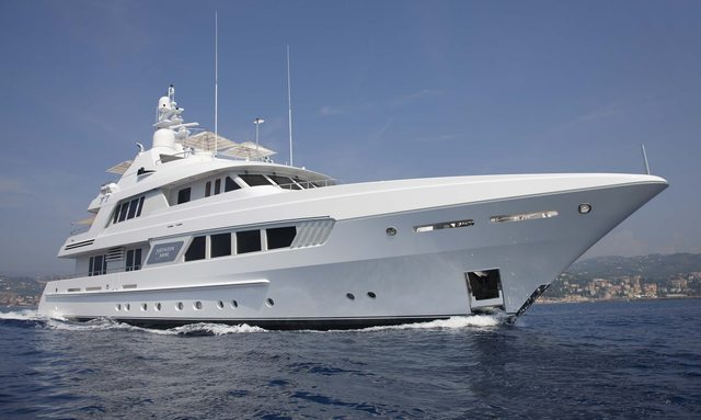 M/Y Kathleen Anne Charter in the Med