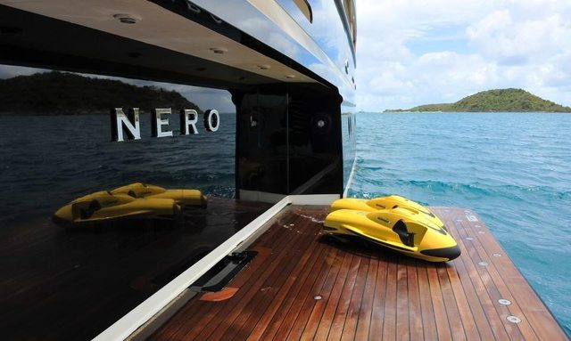 M/Y NERO Available For Charter This New Year