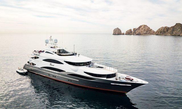 50m TSUMAT joins the Caribbean and Bahamas yacht charter fleet