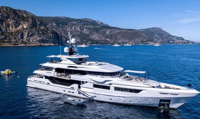 South East Asia yacht charters available with luxury yacht PETRATARA
