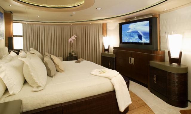 Impressive split level master suite on Wheels