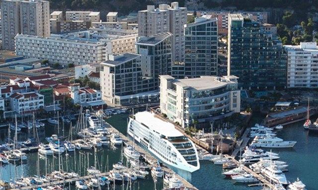 Gibralatar's 'Sunborn Yacht Hotel'