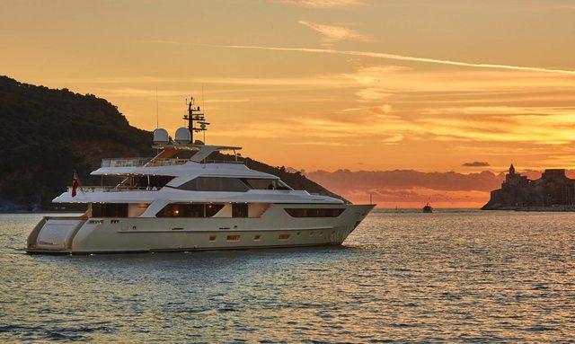 M/Y TAKARA Joins Charter Market in Ibiza