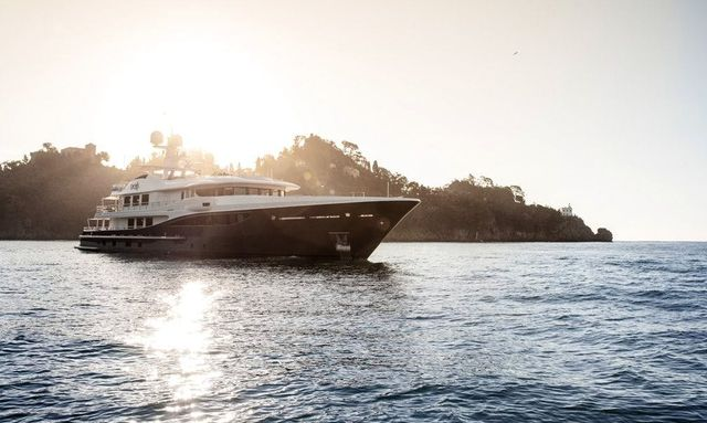 55m motor yacht REVELRY now available for charter in Mediterranean