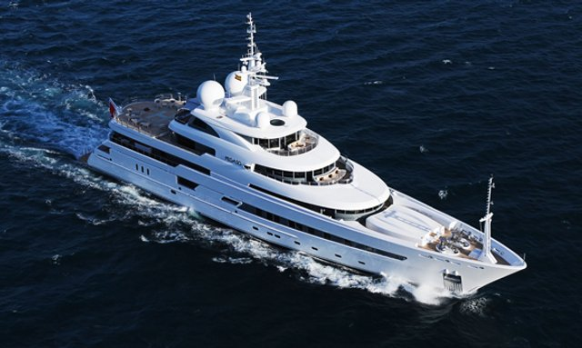 RV Pegaso Moves to The Western Med