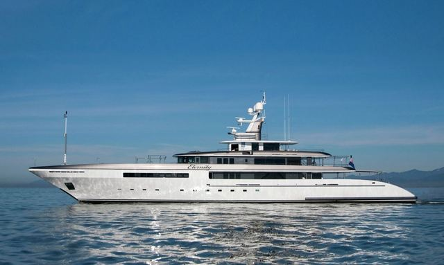 M/Y ETERNITY joins global charter market