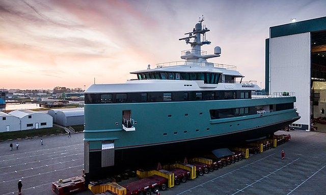 62m Damen SeaXplorer superyacht ANAWA delivered