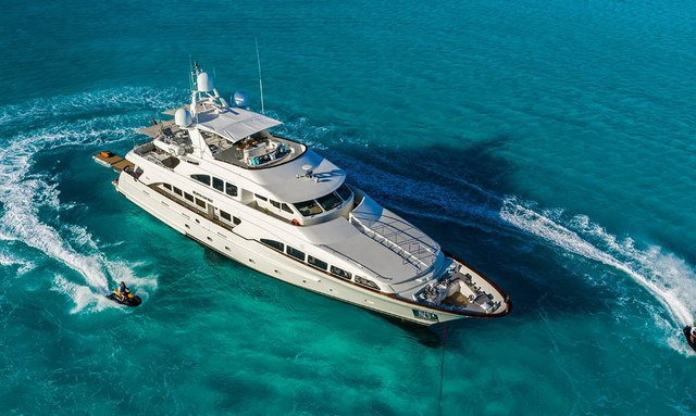 35m Benetti motor yacht HEAVEN CAN WAIT new to Bahamas charter fleet
