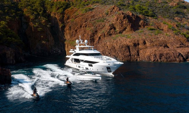 Brand new Benetti superyacht JACOZAMI joins the charter fleet