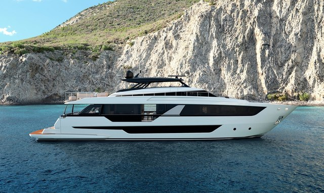 EPIC – New Ferretti 1000 yacht for charter in French Riviera