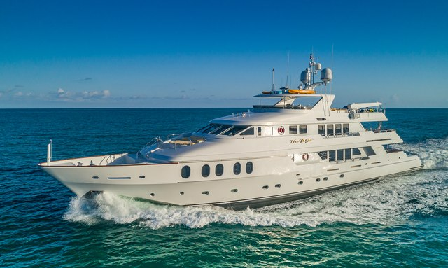 Bahamas and New England charter special: discount on 44m motor yacht I LOVE THIS BOAT