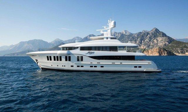M/Y RUYA Joins Global Charter Fleet