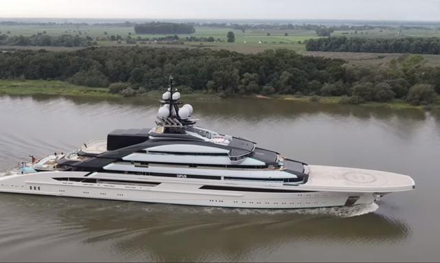VIDEO: 142m Lurssen Superyacht NORD (Project Opus) Undergoes First Sea Trials