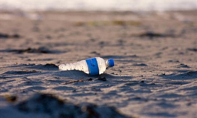 Brokers Try To Cut Plastic Water Bottle Use