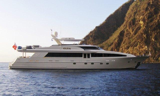 Charter Yacht OLGA in the Caribbean