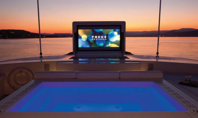 Cinematic jacuzzi on Air