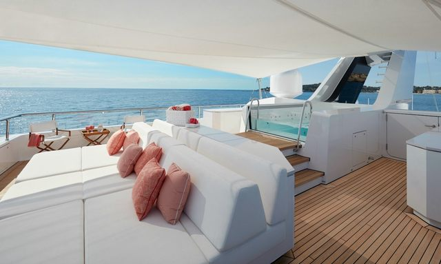 M/Y JOY Available For New Year's Charter