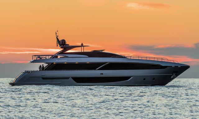 Sleek new Riva yacht BASILIC joins charter fleet in the Mediterranean