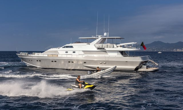 M/Y ANTISAN Joins The Charter Fleet
