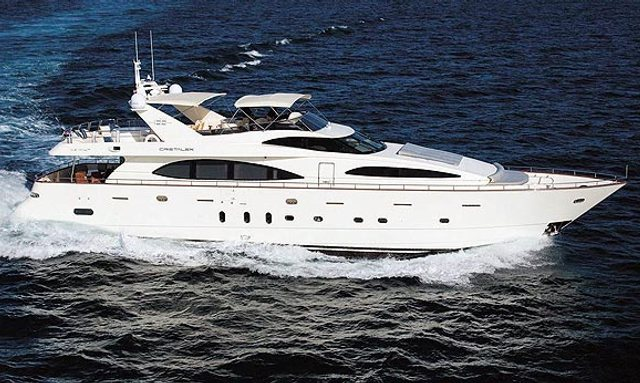 Reduced Charter Rates on Motor Yacht Cristalex