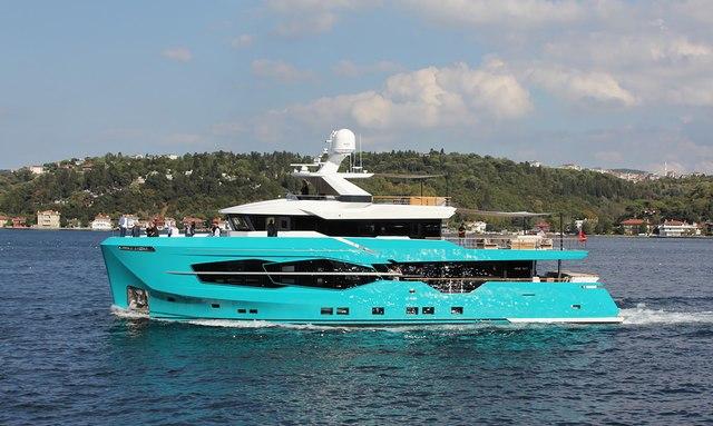 Brand new explorer yacht '7 Diamonds' joins Caribbean charter fleet