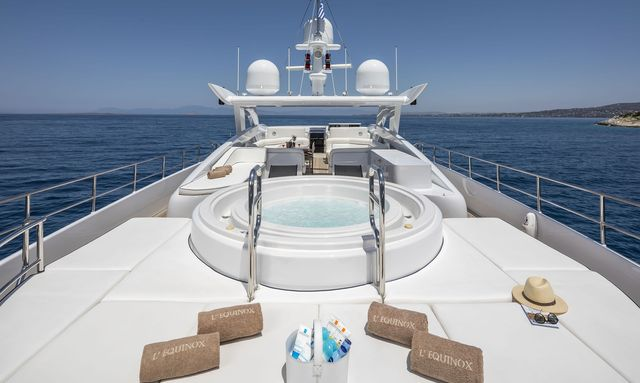 M/Y L'EQUINOX Joins the Greek Charter Fleet