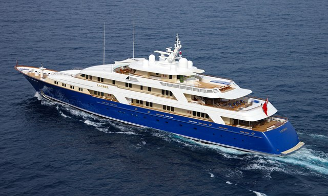 M/Y LAUREL opens for charter in the Caribbean this winter