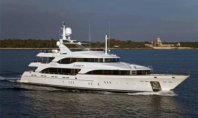 M/Y SOVEREIGN Joins Charter Market