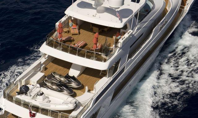 M/Y APHRODITE Enters World Charter Fleet