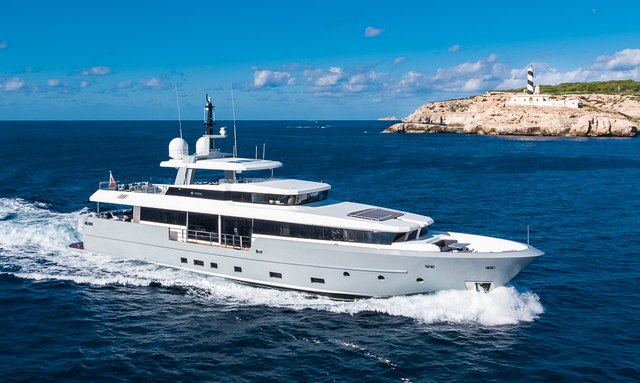 Brand new to the Mediterranean charter fleet: 35m 'Cinquanta 50'
