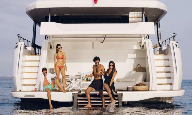 Brand new addition to the Mediterranean yacht charter fleet: Moanna II