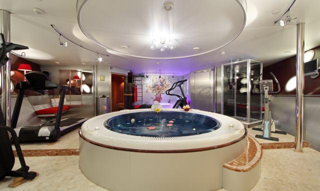 Luxurious wellness facilities on Sherakhan
