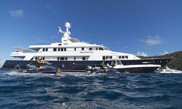 M/Y BROADWATER Renamed Superyacht 'BLU 470'