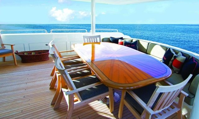 M/Y DOMINO Joins Charter Fleet