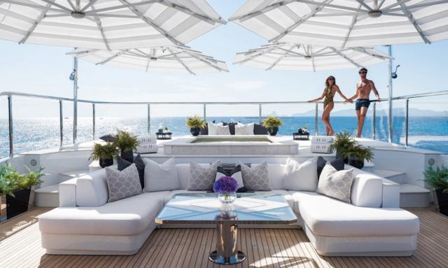 Relaxing sun deck on 11/11