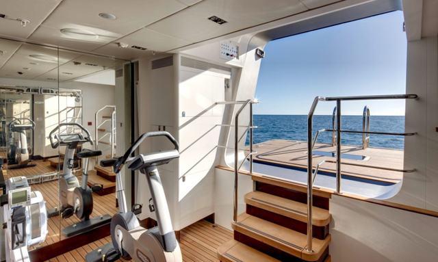 Waterfront gym on Vertigo