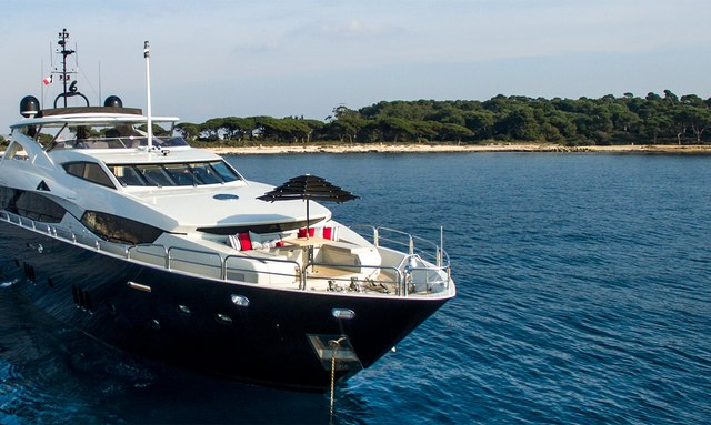M/Y EMOJI Opens for Charter in France and Italy