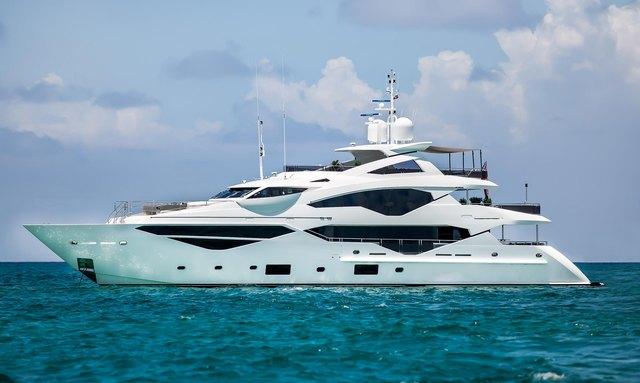 Charter fleet welcomes 40m Sunseeker yacht TC to its ranks
