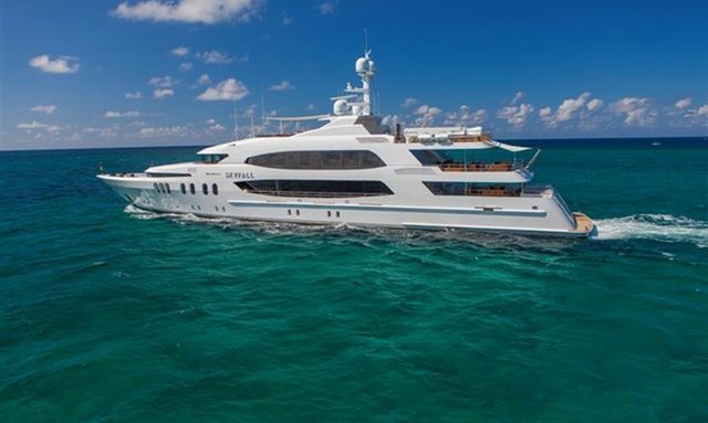 M/Y SKYFALL New for Charter in the Caribbean